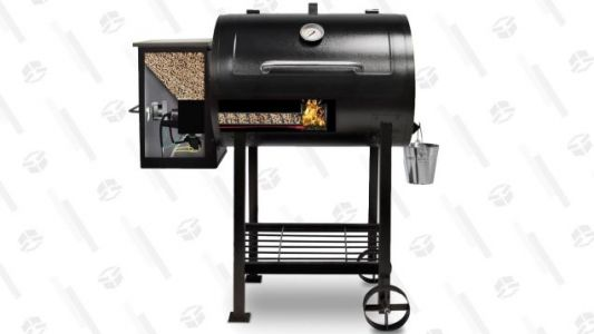 This Discounted Wood Pellet Smoker Is Basically Cheating