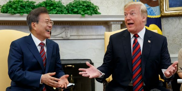 The Pentagon is staying in a 'boxer's stance' after Trump pulls out of summit with North Korea