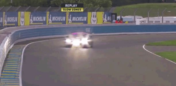 Ping-Pong Action Takes Out One Of The New BMW M8 GTEs During A Crashy Morning At Le Mans