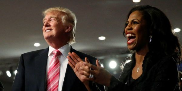 Trump responds to Omarosa tapes by describing her as a pathetic fool who cried and begged for work