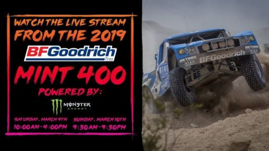 The 2019 Mint 400 Is Live Here Right Now