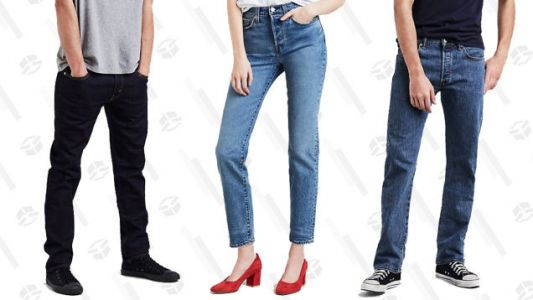 Lean In to New Jeans With 30% Off Sitewide at Levi's