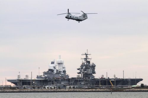 The US Navy is pouring millions of dollars into this nuclear-powered aircraft carrier it can't figure out how to scrap