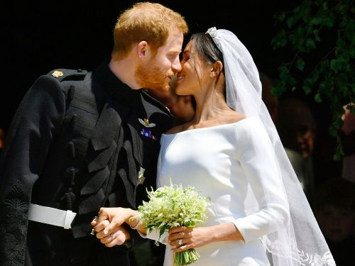 Meghan Markle's wedding bouquet is a beautiful tribute to Princess Diana