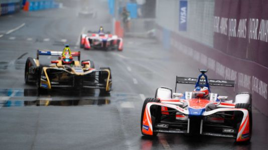 Formula E Storms A Wet New York City