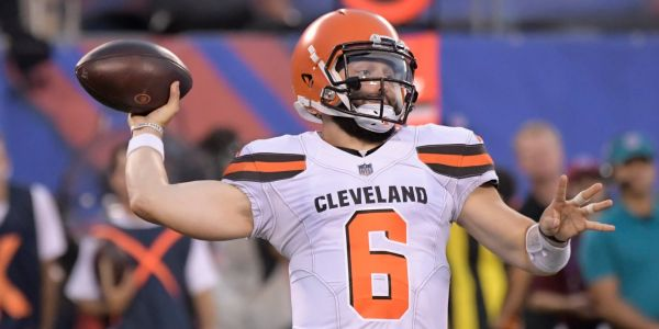 In his first NFL action, No. 1 overall pick Baker Mayfield gave Cleveland Browns fans reason to believe their quarterback woes may soon be over