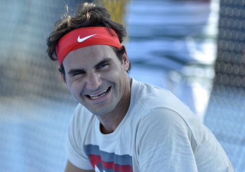 Someone made a hilarious meme of Roger Federer on Twitter - and it was so good the tennis star replied