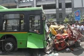 Separate bus accidents claim nine lives in North India