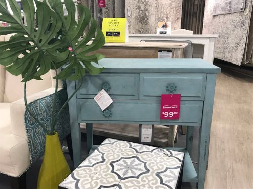 I shopped at TJ Maxx's sister furniture store, and it convinced me never to buy home goods full-price again