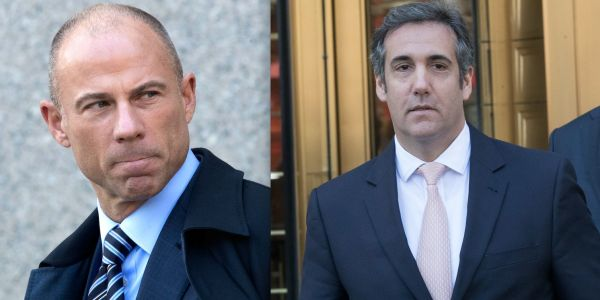 Michael Avenatti bumped into Michael Cohen at a restaurant in NYC, and now thinks Cohen 'is ready to tell the truth' about Trump