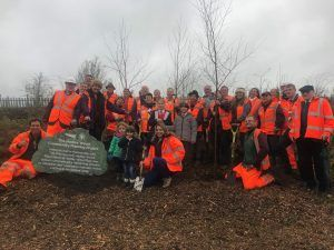 Network Rail Launches New Railway Hedge Planting Trial During National Tree Week