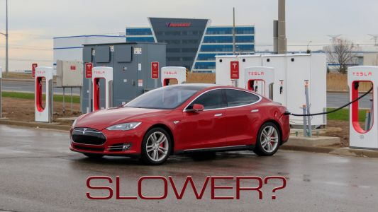 Why Some Tesla Model S, Model X Cars Are Taking Longer To Charge Than They Once Did