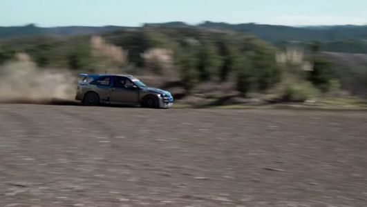Rally Driver Shows Drifter How To Have A Good Time In The Dirt