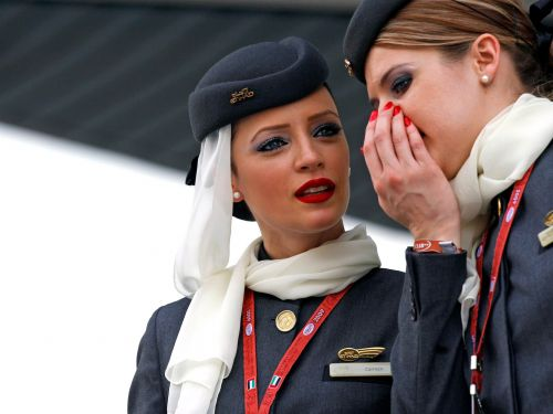 11 truths about flying only flight attendants know
