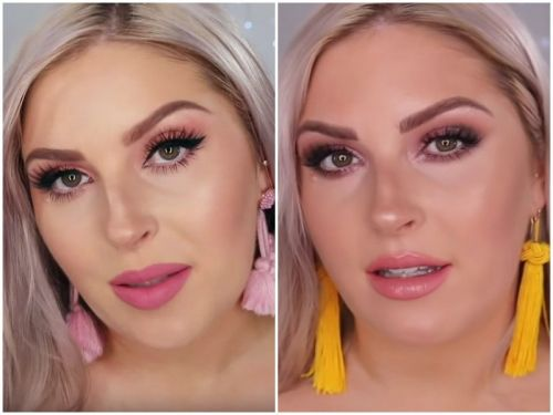A woman tried on drugstore makeup and $1,000-worth of luxury brand products - can you spot the difference?