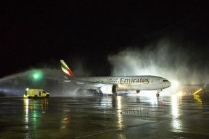 Emirates lands in Santiago de Chile via Sao Paulo