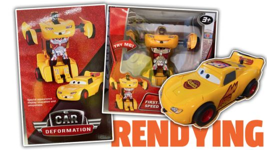 This Has To Be The Best/Worst Disney's Cars/Transformers Mashup Bootleg There Is