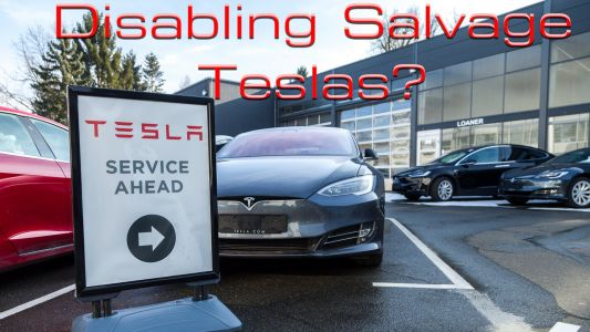 Should Tesla Disable Salvage Cars - And Should You Repair One?