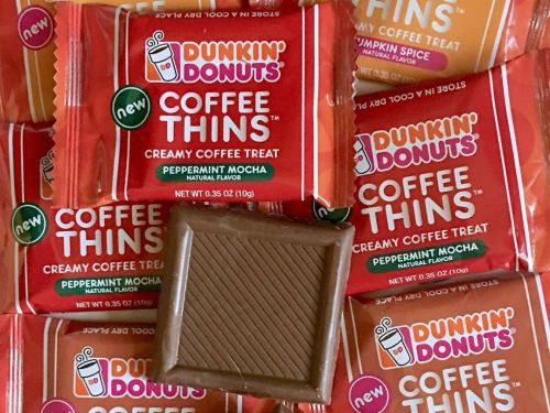 Dunkin' Donuts is releasing candy that tastes just like its coffee in case you're in need of some extra caffeine
