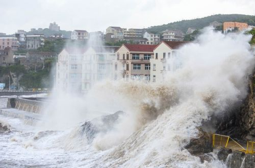Typhoon Maria barrels into China after pounding Taiwan