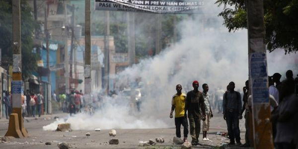 Marines are on the ground in Haiti to protect the US embassy amid violent fuel-price protests