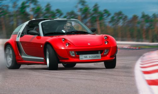 I shan't ever forgive Smart for its failure to bring the Roadster to the US market