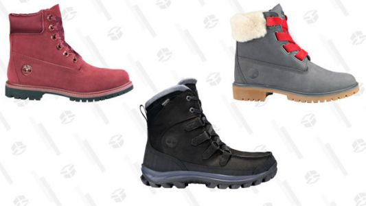 Get the Boot With an Extra 25% Off Sale Styles at Timberland
