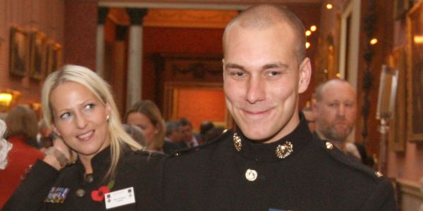 This Royal Marine threw himself on a grenade - and walked away with a nosebleed