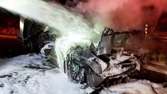 Owner of McLaren Senna That Caught Fire Says It 'Burned Itself'