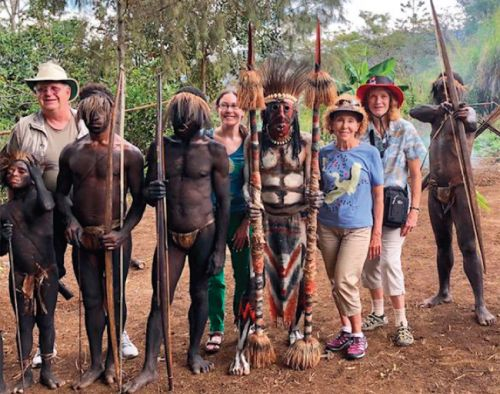 TCC Members on the Road in Papua New Guinea