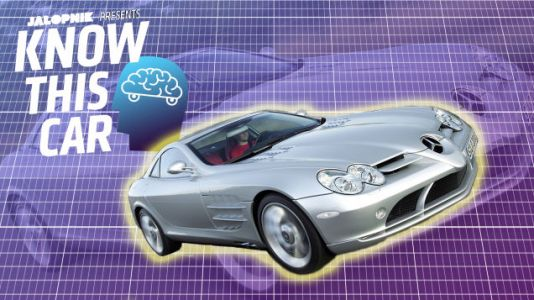 The Mercedes-Benz SLR McLaren Is and Is Not a Supercar