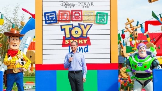 Disney Opens Toy Story Land at Shanghai Theme Park