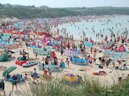 Cornwall tourism warns tourists to stay away from beaches Porthcurno and Kynance cove