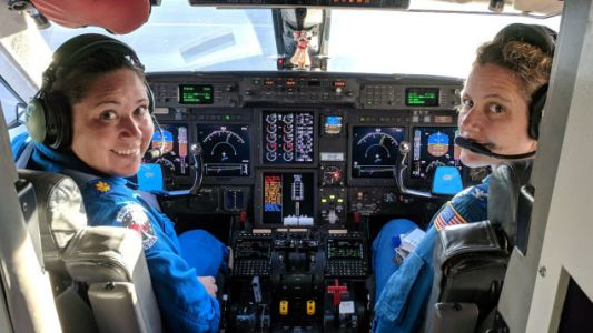 NOAA's First All-Female Hurricane Hunter Crew Flew Fearlessly Into Hurricane Hector