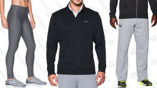 Load Up On Fall Workout Gear With an Extra 20% Off Under Armour Clearance