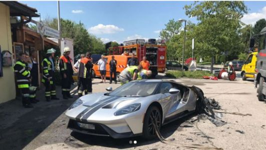 Engineers Are Investigating Why This Ford GT Burned To The Ground In Germany