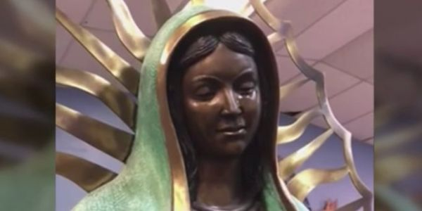 A Virgin Mary statue in New Mexico is crying tears of olive oil - and the Catholic Church can't figure out why
