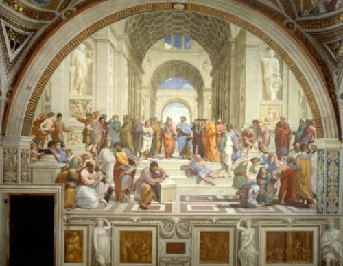 Daily Dose of Europe: Raphael's School of Athens
