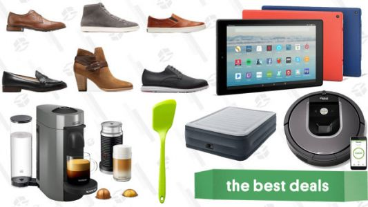 Friday's Best Deals: Fire HD 10 Tablets, Sony Headphones, GiR Spatulas, and More
