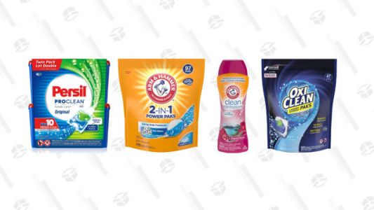 Save Big on Laundry Essentials with Today's Gold Box