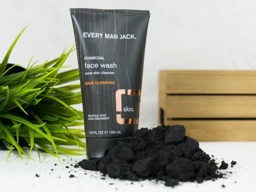This grooming collection uses activated charcoal to prevent and treat breakouts - and everything is under $8