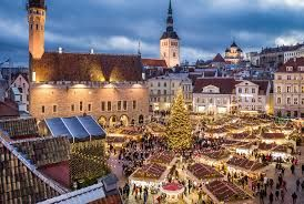 The Tallinn Christmas market voted the best in Europe in a poll