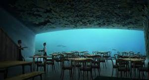 Europe's first underwater restaurant unveiled in Norway