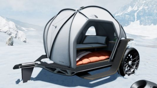 BMW Teamed With The North Face to Make a Tent With Tweels