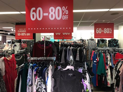We visited a JCPenney store a day after its CEO resigned abruptly, and it was a complete mess