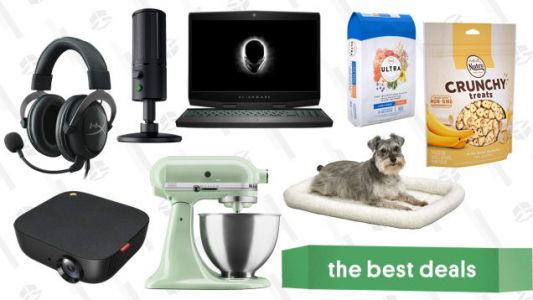 Tuesday's Best Deals: Gaming Gold Box, Anker Projector, Puppy Essentials, and More