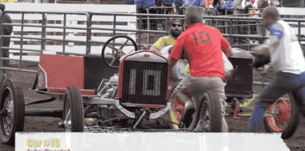 There's a Model T Race With Pigs as Co-Drivers, Because of Course There Is