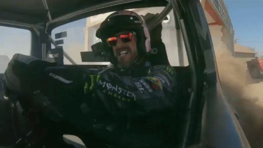Ken Block Is Having a Good Time