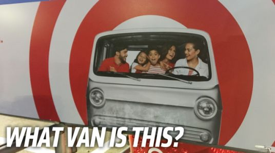 It's Time To Identify The Van Used On Target's Cart Return Corrals
