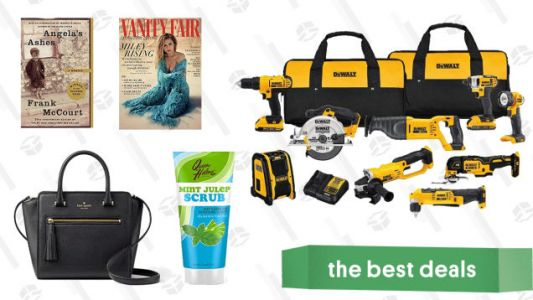 Sunday's Best Deals: Lucky Brand, DEWALT Tools, Sunglasses, and More